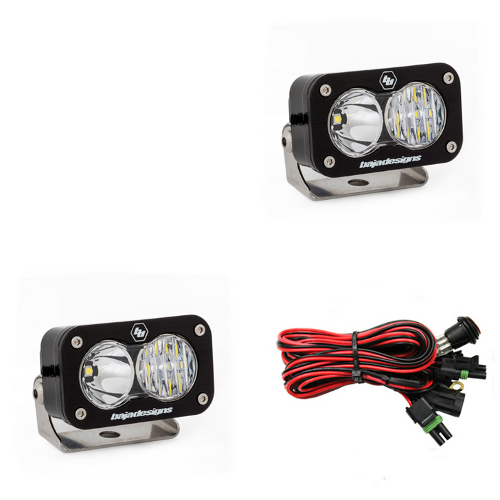 Baja Designs S2 Pro, Pair Driving/Combo LED - 487803