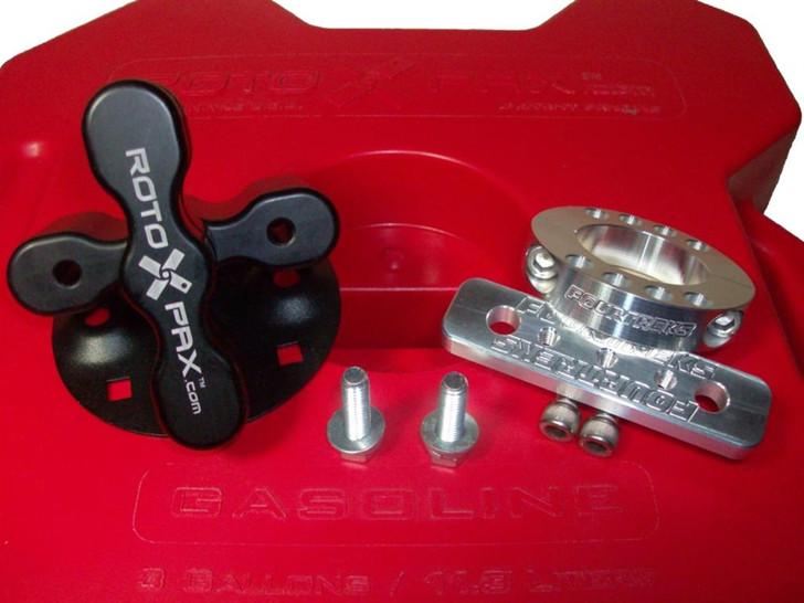 FourTreks Modular RotopaX Interior Mount (single) for Jeep Wrangler JK Unlimited