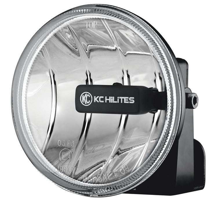 "Gravity LED G4; Universal 4"" Round LED Replacement Single Fog Light - KC HiLiTES #1495 (Amber)"