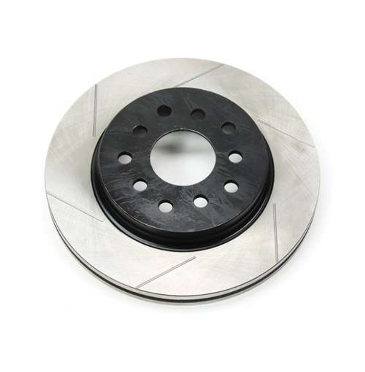 JK/JKU Replacement Front Passenger Slotted Brake Rotor - Front Big Brake or Rotor Kits - Each