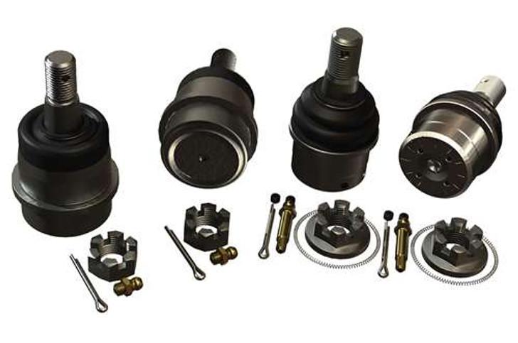 JK/JKU HD Dana 30/44 Upper & Lower Ball Joint Kit w/out Knurl - Set of 4
