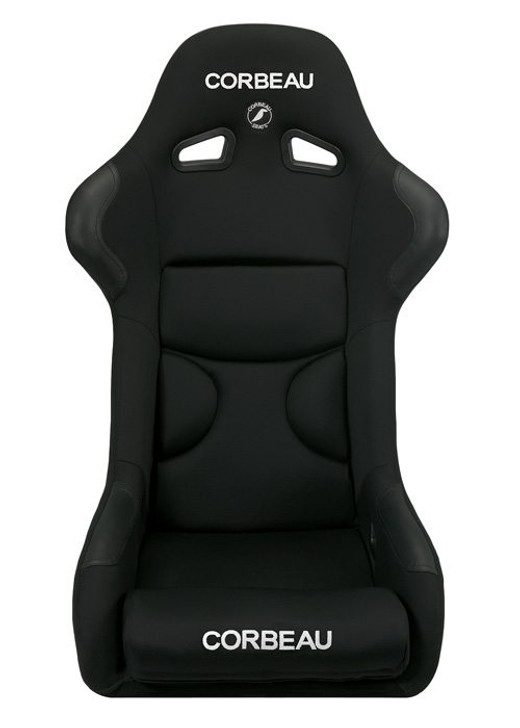 The FX1 Pro racing seat features composite fiberglass technology. The FX1 Pro racing seat comes in three different sizes, the FX1 Pro, FX1, and FX1 Wide. The FX1 Pro combines comfort, performance, and safety at an absolutely unbeatable price. Designed with an emphasis on comfort, this seat is one of the most comfortable race seats you will ever sit in. If you enjoy racing and want a practical and affordable shell seat, the FX1 Pro is a hard one to pass on. As a rule of thumb, the FX1 Pro racing seat will fit up to a 36 inch waist, the FX1 will fit up to a 38 inch waist and the FX1 Wide (black only) will fit up to a 42 inch waist. High wear patches are strategically placed to protect your seat from abuse in the high wear areas. The FX1 Pro racing seat is available in cloth fabric with leatherette high wear patches or black microsuede with leather high wear patches.