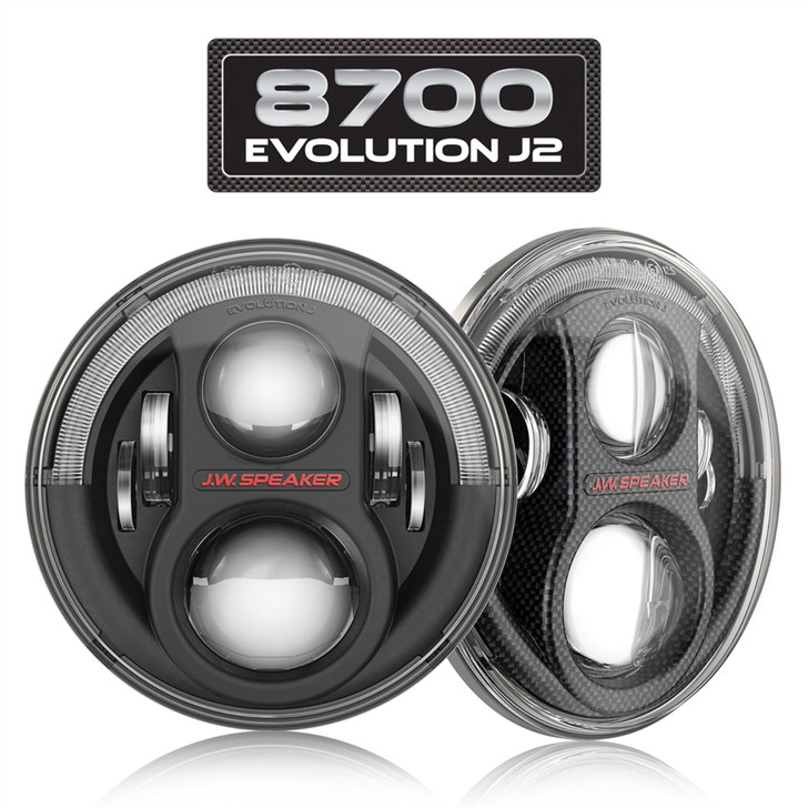 JW SPEAKER - 8700 EVOLUTION J2 LED HEADLIGHTS