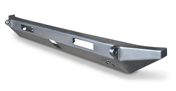 Poison Spyder JK BFH II Rear Bumper - Receiver - Tabs - Lights