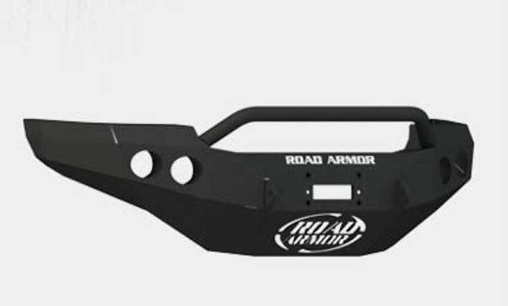 Road Armor Front Stealth Winch Bumper, Pre-Runner Guard, Satin Black 8