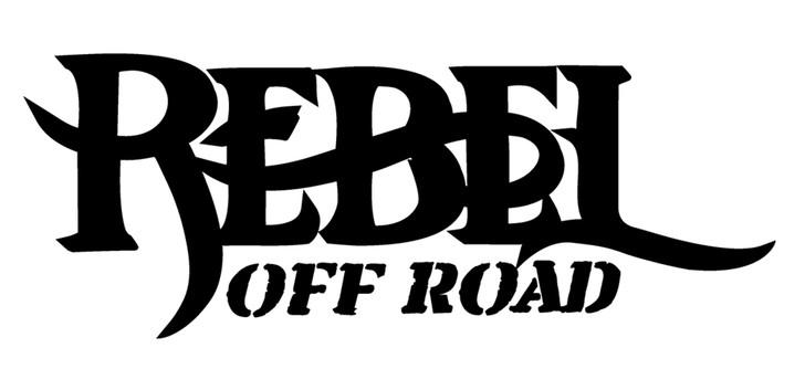 Rebel Off Road Decal Black