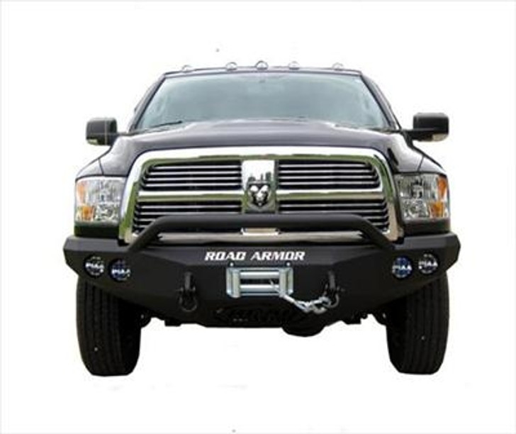 Road Armor Front Stealth Winch Bumper, Pre-Runner Guard, Satin Black 9