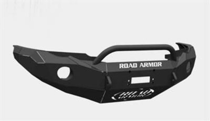 Road Armor Front Stealth Winch Bumper, Pre-Runner Guard, Satin Black 24