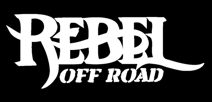 Rebel Off Road Decal White