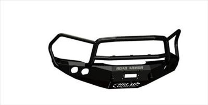 Road Armor Front Stealth Winch Bumper, Lonestar Guard, Satin Black 3