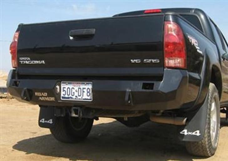 Road Armor Rear Stealth Bumper, Satin Black (works on 2005+)