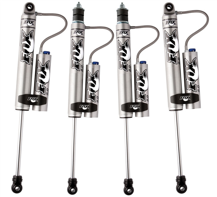 "JK/JKU 5-6"" Lift FOX Racing Shox 2.0 Performance Series Reservoir Shock Absorber w/ CD Adjuster - All 4"