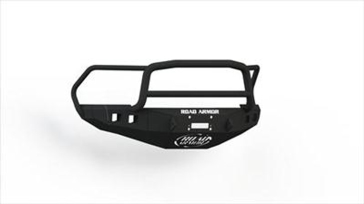 Road Armor Front Stealth Winch Bumper, Lonestar Guard, Satin Black 4