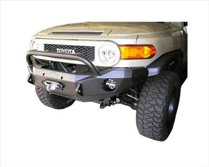 Road Armor Front Stealth Winch Bumper, Bull Bar, Satin Black