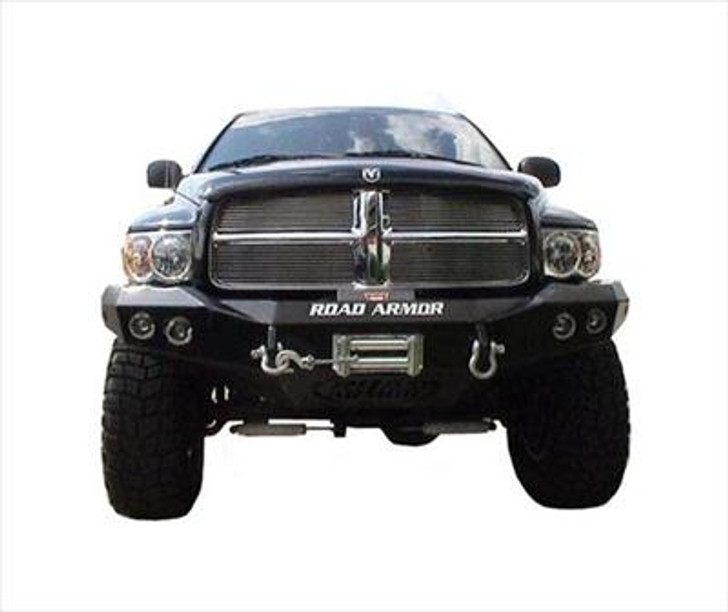 Road Armor Front Stealth Winch Bumper, Satin Black 12
