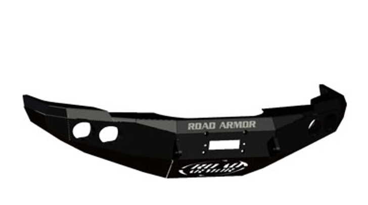 Road Armor Front Stealth Winch Bumper, Satin Black 14