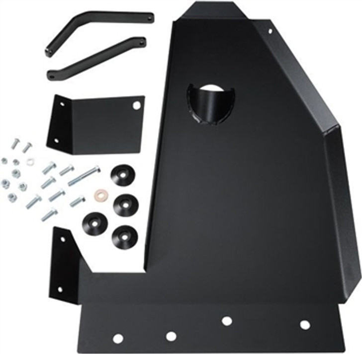 Aluminum Rock Hard 4x4 Oil Pan / Transmission Skid Plate - Short Arm/Factory Suspension for Jeep Wrangler JK 2/4DR 2007 - 2018