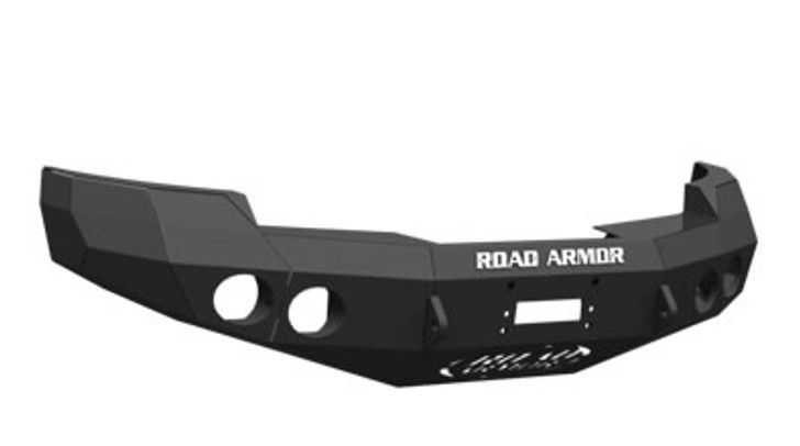 Road Armor Front Stealth Winch Bumper, Satin Black