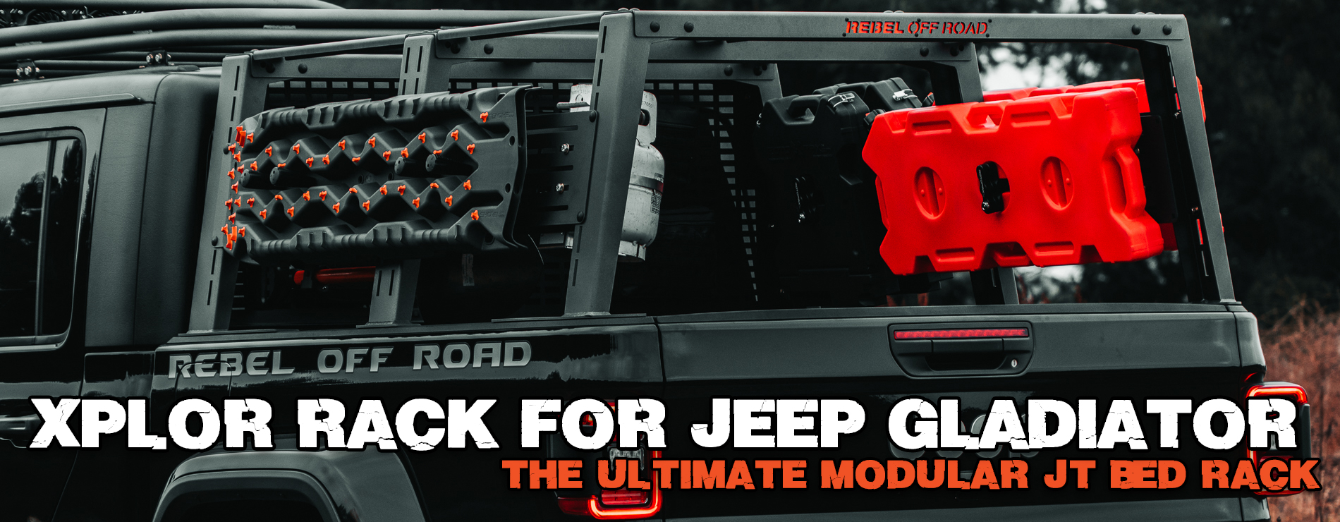 XPLOR RACK FOR JEEP GLADIATOR