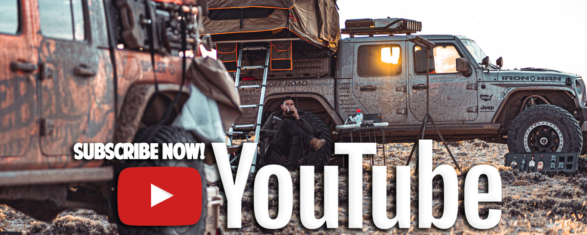 Subscribe To Rebel Off Roads YouTube Channel