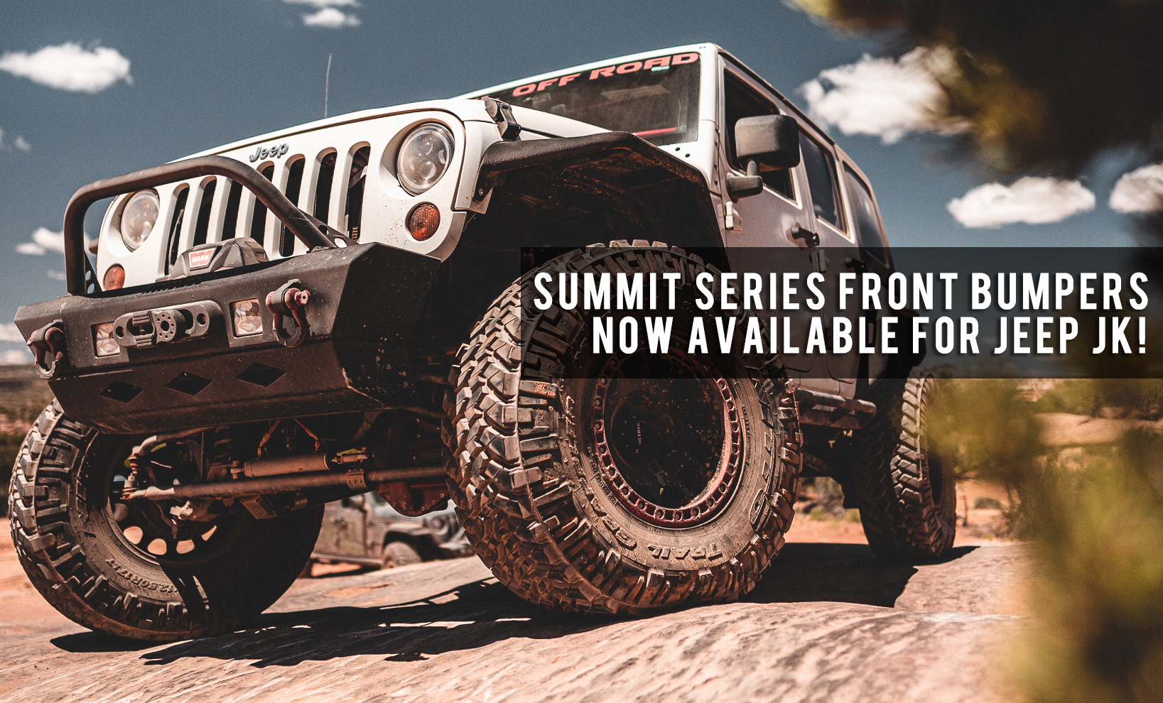 Rebel Off Road Summit Series Front Bumpers