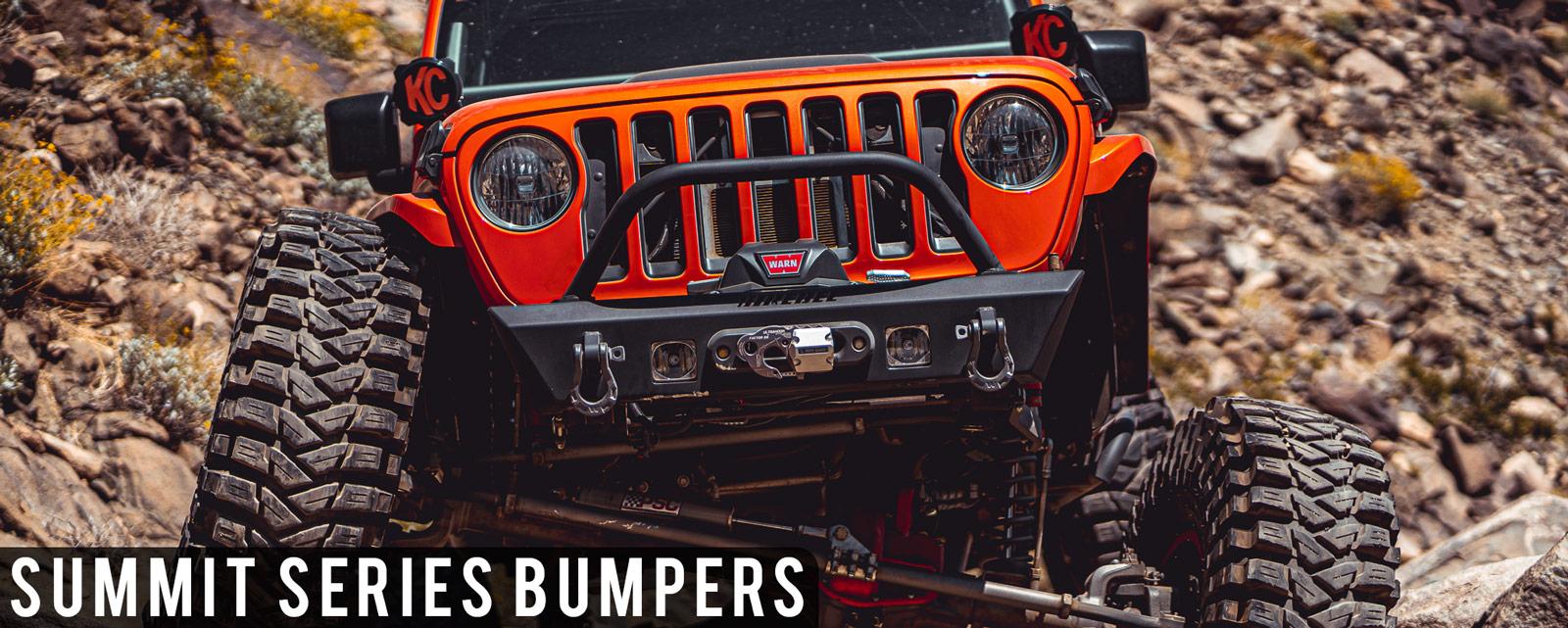 Rebel Off Road Summit Series Bumpers