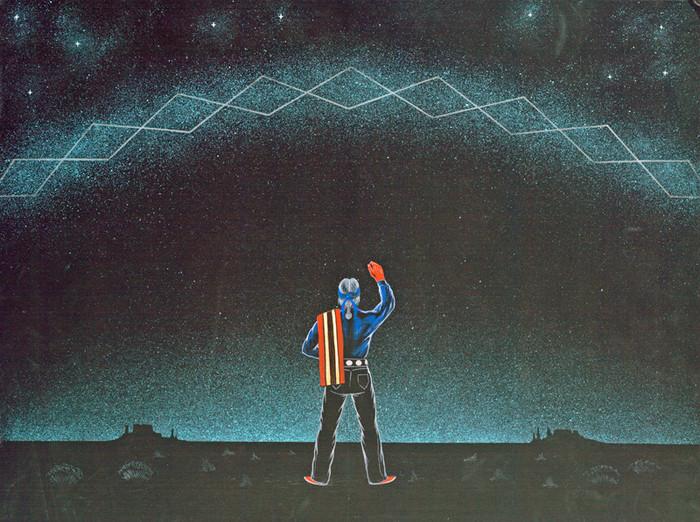 Yikáísdáhá - The Milky Way, Relationship With The Dawn