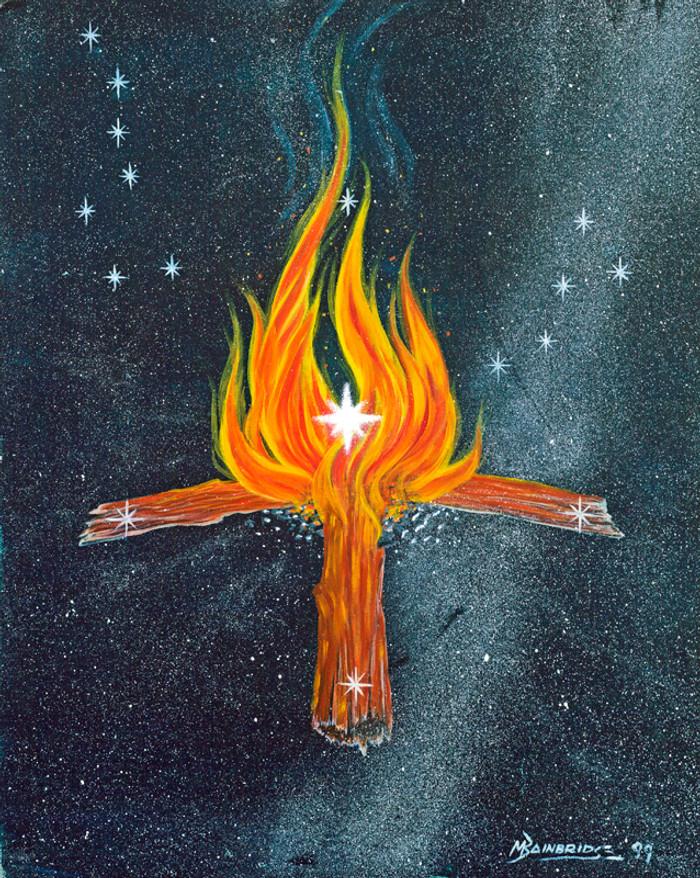 Nahookos Biko' - Central Fire Of The Sky – Polaris, The North Star