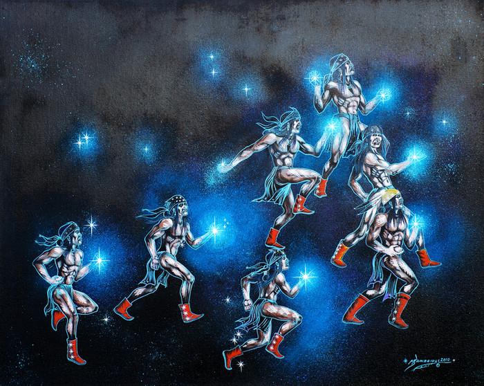Diléhé - the Pleiades, Hard Flint Boys