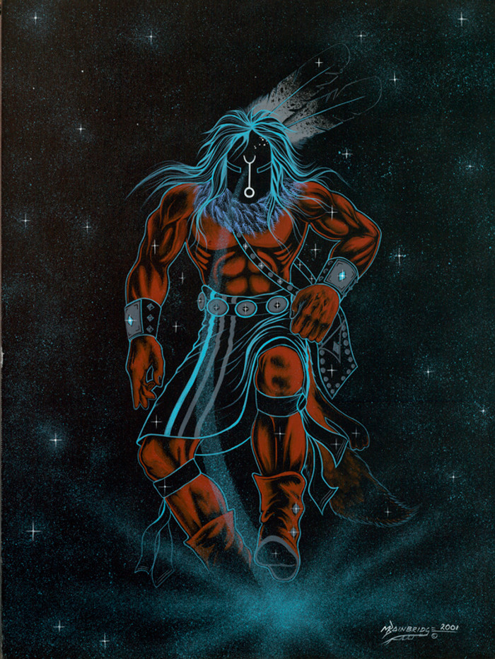 Black God  - The Fire God