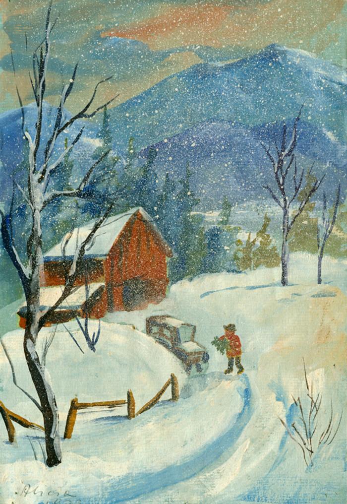 Winter Walk, Randolph, Vermont