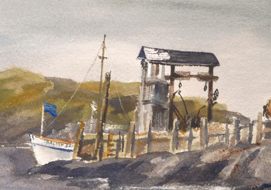 Balmy Days Arrival At Monhegan Island