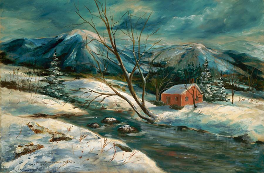 Winter Mountain Cabin, Brattleboro, Vermont