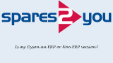 Is my Dyson an ERP or Non-ERP version?