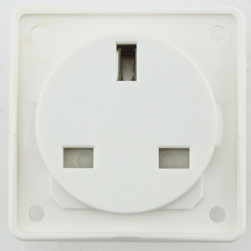 Berker 13 Amp Socket Colour White W4 21221W