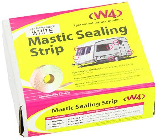 High Performance White Mastic Sealing Strip 45mm 00125