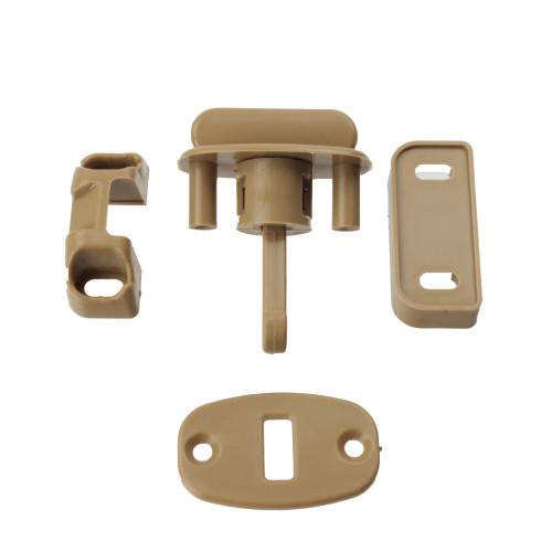 Locker Door Snap Retainer Catch Beige W4 37847