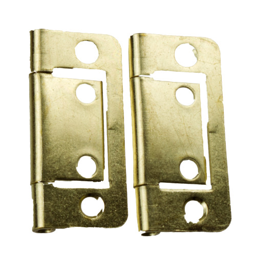 "Flush Hinge Brass 2"" W4 37862"