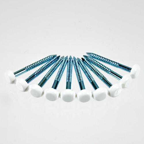 Caravan PolyTop Pins 25mm Pk of 10 W4 37728