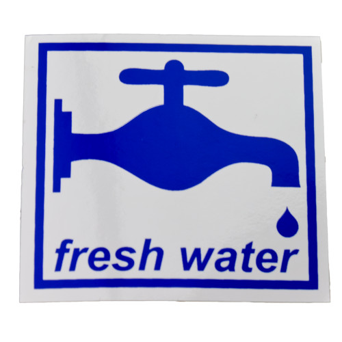Fresh Water Sticker W4 37116