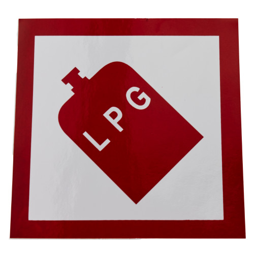 LPG Sticker W4 37101
