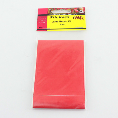 Lamp Repair Sticker Red W4 37121