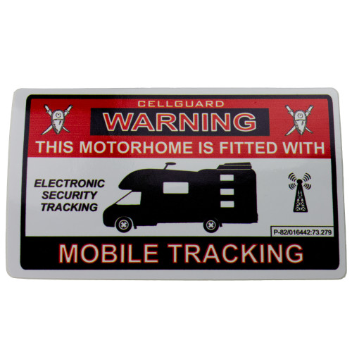 Tracking Fitted Momorhome Sticker W4 37109