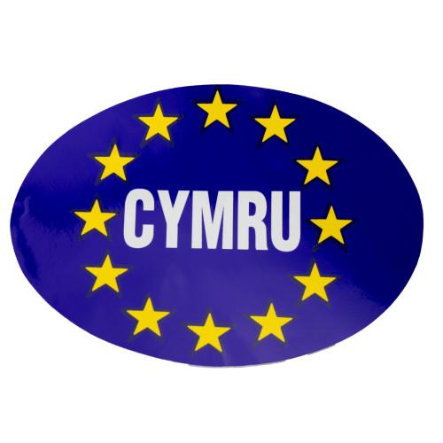 Euro Sticker CYMRU Oval W4 37145