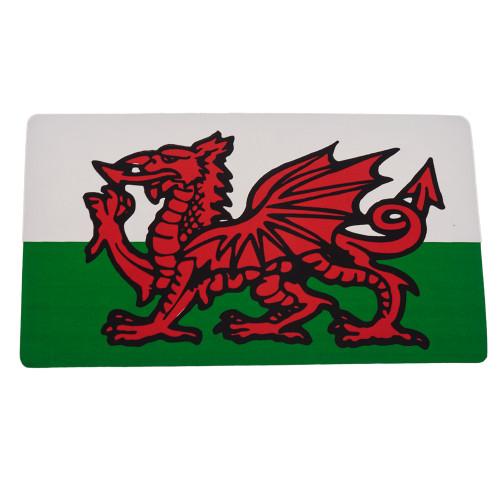 Welsh Dragon Medium Rectangle Sticker W4 37149