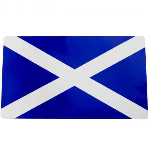 Scotland Flag Medium Rectangle Sticker W4 37159