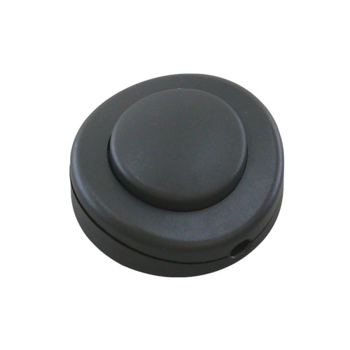 In Line Black Foot Switch For Standard Lamps PLU61183