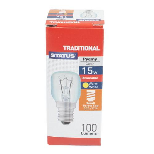 SES 15w Clear Pygmy Lamp PLU73810