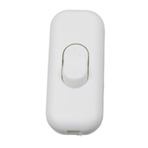 Double Pole 2A In Line Switch in White PLU36311