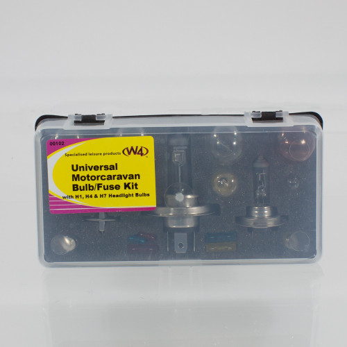 Universal Motorcaravan Bulb Fuse Kit W4 00102